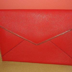 Rebecca Mincoff Leo Zip Clutch Bag